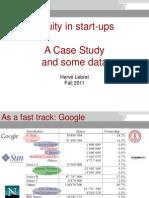 Equity Split in Start-Ups - Lebret