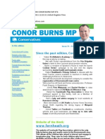 News Bulletin from Conor Burns MP #74