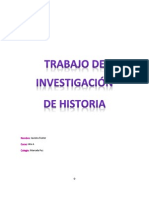 Trabajo de Historia Javiera Material