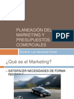 Sesion 12 Planeacion Del Marketing y Presupuesto Comer CIA Les 2011