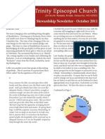 Stewardship 2011 Trinity Newsletter