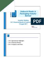 Daibochi 1H11Briefing Presentation Final 110805
