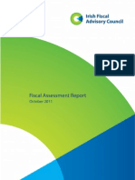 Irish Fiscal Advisory Council October 2011 - First Draft
