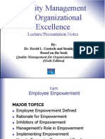 Chapter8 Employee Empowerment