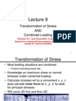Transformation of Stresses
