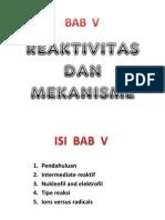 Bab 4 Reaktivitas Dan Mekanisme