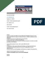 Filatures Et Surveillances Rapport de Detective Prive