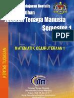 Matematik Kejuruteraan 1 Kertas Tugasan