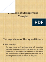 Session 2 Evolution of Management Thought
