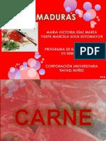CARNES MADURAS