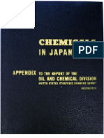 USSBS Report 50, Chemicals in Japan's War - Appendix