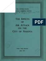 USSBS Report 57, Effects of Air Attacks on City of Nagoya