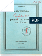 USSBS Report 63, Japanese Air Weapons and Tactics