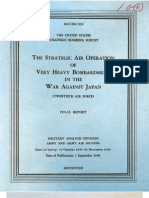 USSBS Report 66, The Strategic Air Operations of Very Heavy Bombardment