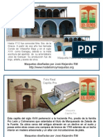 Infografia Capilla Pro y Casa Hacienda Garagay Los Olivos