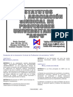 Estatutos ASPU - Universidad de Córdoba