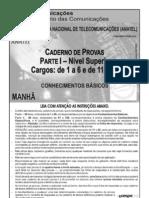 Especialista em Regulação de Serviços de Telecomunicações - Engenharia_Anatel