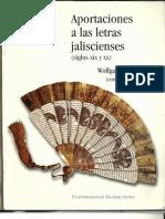 Vogt. Aportaciones a Las Letras Jaliscienses Imagenes de La Revolucion Cristera