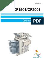 Minolta CF 1501 2001 - User Manual
