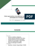 Cómo aprovechar a los teléfonos inteligentes en actividades de investigación