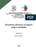 Fenomene Electrice Cu Impact Asupra Mediului