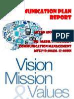 CommPlan Report