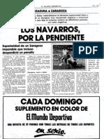 Osas Zaragoza (1 2), 9 II 83