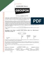 Groupon Prospectus