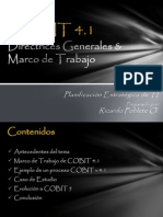 Presentación Cobit PE de TI