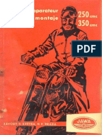JAWA & CZ - Service Manual Jawa 250,350 Typ 353, 354 (Original FRA,SPA)