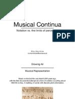 Musical Continua