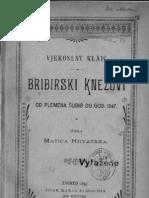 Vjekoslav Klaic Bribirski Knezovi