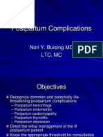 Postpartum Complications