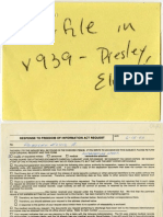 Elvis Presley - Correspondence File 4