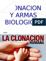 Clonacion y Armas Biologic As