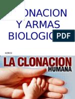 Clonacion y Armas Biologic As