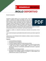 Políticas para el desarrollo deportivo - Ricardo Alfonsín 2011