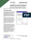860 Dspi Secure 860 Link and Instrument Fingerprint Appnote
