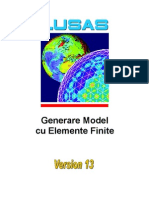 LUSAS Modelare Cu Elemente Finite