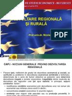 Dezvoltare Rurala Si Regionala