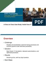 Cisco IT Case Study Oracle11i Everest Print