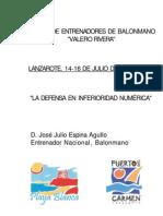 [Lo+Bm]_La Defensa en Inferior Id Ad Numérica_[Jose Julio Espina-Clinic Lanzarote2005]