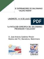 [Lo+Bm]_La Patologia Especifica Del Balonmano_[J.A