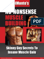 No Nonsense Muscle Building - Men