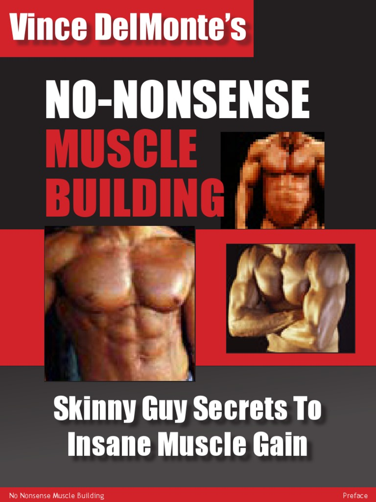 81946b7ae92ed No Nonsense Muscle Building - Men
