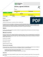 NTP 99 METODOS DE EXTINCIÓN Y AGENTES EXTINTORES