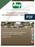 Plan de Emergencias 2010