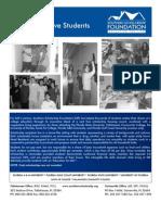 Southern Scholarship Foundation SSF Application-New