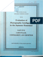 USSBS Report 102, Evaluation of Photographic Intelligence in the Japanese Homeland, Part5, Camaflouge