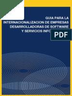 Guía para la Internacionalización de empresas desarrolladoras  de software y servicios informáticos